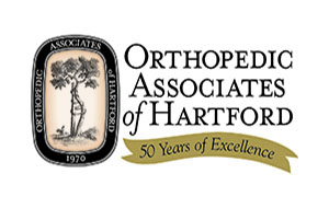 Orthopedic Associates of Hartford 50 years logo