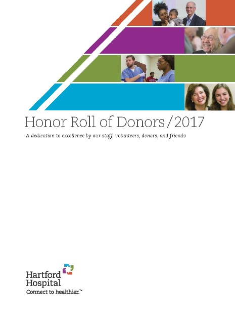 Honor Roll of Donors 2017